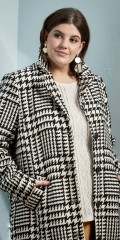 Zhenzi - Chequered coat