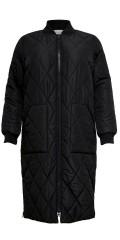 ONLY Carmakoma - Lang quiltet jakke