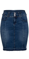 Adia Fashion - Denim nederdel
