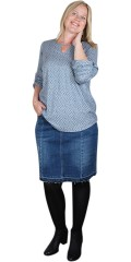 Adia Fashion - Denim skirt
