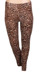 Zhenzi - Long leopard leggings