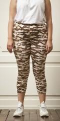 Zhenzi - Light camouflage 3/4 leggings
