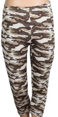 Zhenzi - Light camouflage 3/4 leggings