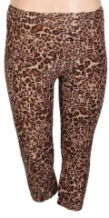Zhenzi - Leoparde 3/4 Leggings