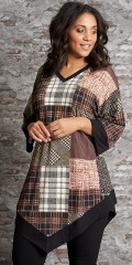 Studio Clothing - Oversize tunika i patchwork look