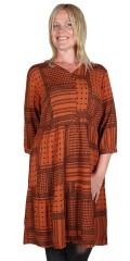 CISO - Kjole i smart patchwork