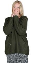 ONLY Carmakoma - Falicia v-neck pullover