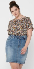 ONLY Carmakoma - Vica top with flowers