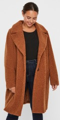 Vero Moda Curve - Lucinda teddy jacket