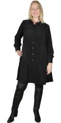 Zizzi - Fibu sammetsklänning