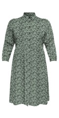 ONLY Carmakoma - Shirt dress in delicious viscose
