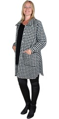 Aprico - Pepita chequered jacket