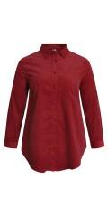 CISO - Skjorte i babyfløyel