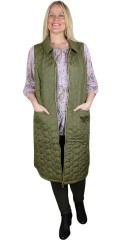 Adia Fashion - Quilted long vest
