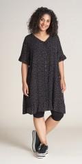 Studio Clothing - Lækker gennemknappet crepe vicose skjorte/kjole