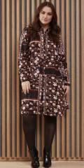 Zhenzi - Skjorta klänning