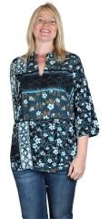 Zhenzi - Printet bluse