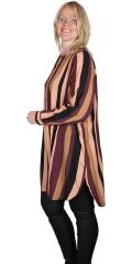 Zhenzi - Stribet kjole