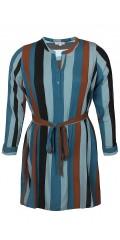Zhenzi - Randat klänning