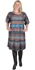 Cassiopeia - Mika dress 1 in patchwork look