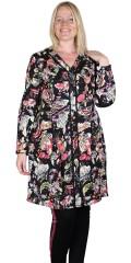 Adia Fashion - Beautiful flowery viscose shirt dress