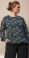 Zhenzi - Jump blouse in paisley print