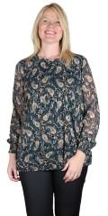 Zhenzi - Jump bluse i paisley print