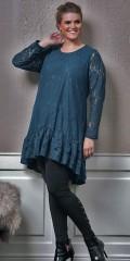 Zhenzi - Piva spets tunika klänning