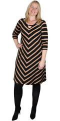 Aprico - Striped dress