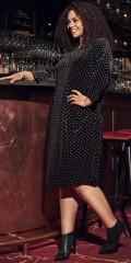 ONLY Carmakoma - Elinora 3/4 knee dress