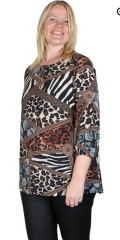 Studio Clothing - Tunika med animal print