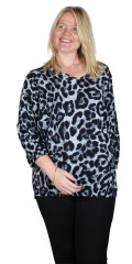 Studio Clothing - Leoparde bluse