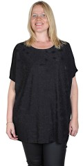 Gozzip - Oversize blouse with structure