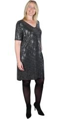 ONLY Carmakoma - Paillet kjole