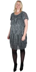 Vero Moda Curve - Glitter dress