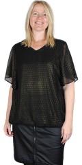 Zhenzi - Kori gold printed blouse