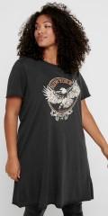 ONLY Carmakoma - Newyork life tunic t-shirt
