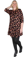 Gozzip - Flowery shirt tunica