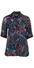 Skjorte med flot print