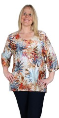 Studio Clothing - Blouse palmeprint