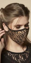 Zhenzi - Stoff 3 lags  mouthpiece tigerstribet