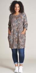 Studio Clothing - Klänning tunika i paisley