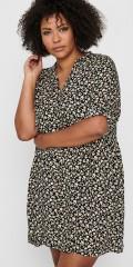 ONLY Carmakoma - Blumengemustert Hemdkleid