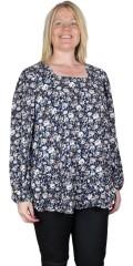 Zhenzi - Lorp flowery blouse