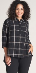 Studio Clothing - Chequered cotton blouse
