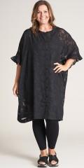 Gozzip - Charlotte oversize lace tunica/shirt