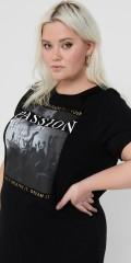 ONLY Carmakoma - Lång t-shirt