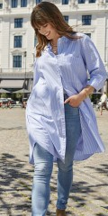 ONLY Carmakoma - Viggi striped long shirt