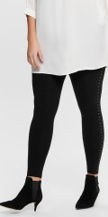ONLY Carmakoma - 7/8 Leggings mit Nieten