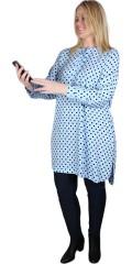 Zhenzi - Kuli prikket skjorte tunika